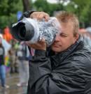 Regenschutz für meine DSLR Kamera.